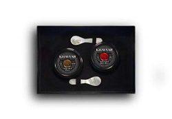 Caviar Gift Set by Khavyar || Imported Osetra Double