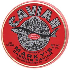 Sevruga Caviar 'Malossol' – 14 oz/400 gr.