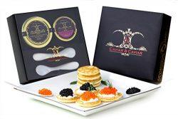 GUARANTEED OVERNIGHT! 2oz Premium Sturgeon – 1oz Fresh French TroutFREE GIFT BOX w/ 2 Moth ...