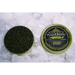 Plaza Osetra Golden Farmed Sturgeon Caviar, 8.8 oz