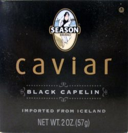 Seasons Caviar Black Capelin