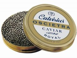 Oscietra Royal (Russian Sturgeon Caviar) by Calvisius, 125 Grams Approximately 4.4 Ounces