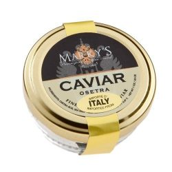 Farmed White Sturgeon Caviar, Italy – 16 oz