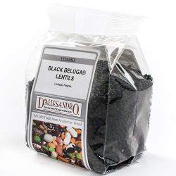 Black Beluga Lentils – 12 oz. (12 ounce)