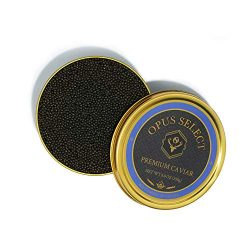 Opus Select Premium Caviar, Highest Quality and Wild-Caught Paddlefish from American West Rivers ...