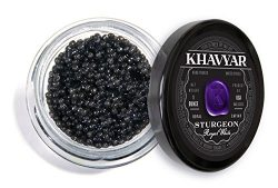 Caviar by Khavyar || Royal White Sturgeon Caviar, 1kg (2.2lbs)