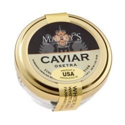 Caviar Osetra White Sturgeon (TRA) 'Malossol' – Farm raised – 3.50 oz.