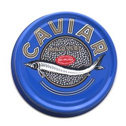 Marky's Sevruga Premium Sturgeon Black Caviar – 3.5 Oz Malossol Sturgeon Black Roe – GUARA ...