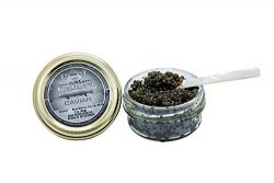OLMA Black Kaluga Royal Caviar 2 oz (56g) Glass Jar