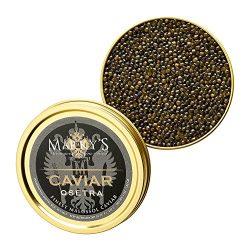 Fresh Farmed Osetra Golani Caviar – 1 oz
