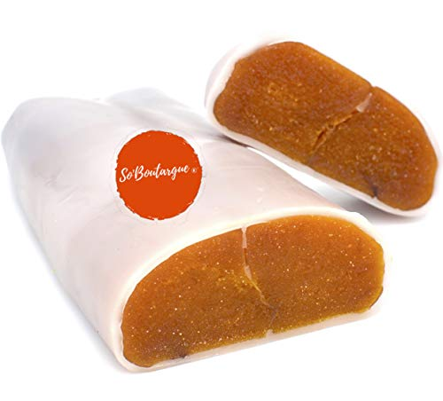 So'Boutargue Kosher Bottarga Made in France, Beeswax Coat 5.29 ~ 7 oz .
