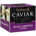 ROMANOFF CAVIAR LUMPFISH BLK, 2 OZ