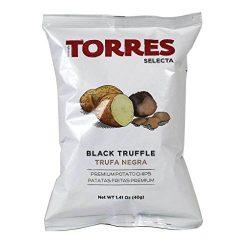 Torres – Black Truffle Potato Chips, 1.41oz (40g) (3-PACK)