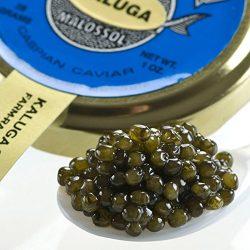 Kaluga Fusion Amber Caviar – 7 oz