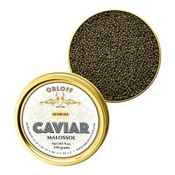 ORLOFF Sevruga Sturgeon Caviar – 1 Ounce – Freshness GUARANTEED Overnight Delivery