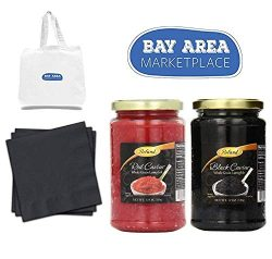 Black & Red Whole Grain LUMPFISH CAVIAR (12oz / 340gr) Pack and Sold by Bay Area Marketplace ...