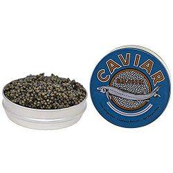 Kaluga Sturgeon Amber Caviar Huso Dauricus River Beluga 2.2 lbs 1 kg – Jar with Pearl Cavi ...