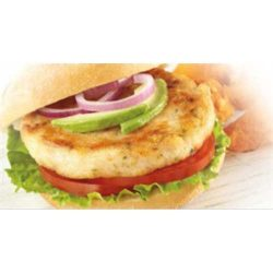 Trident Seafoods Wild Caught Alaskan Whitefish Burger, 10 Pound — 1 each.