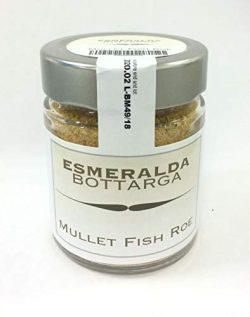 Esmeralda Bottarga Grated in 70 g jar – Mediterranean Caviar – (Dried Mullet roe) Ko ...