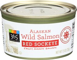 365 Everyday Value, Alaskan Wild Salmon Red Sockeye, 7.5 oz