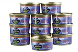 Wild Planet, Wild Pink Salmon, 6 Ounce (Pack of 12)