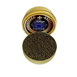 $36 | oz Alexander Kaluga Sturgeon Caviar, Premium Quality 8 oz | 227 g