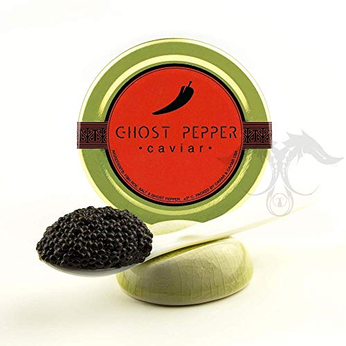 fresh wild American Bowfin Caviar infused with a secret Louisiana recipe of Fine Sea Salt and Gh ...