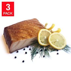 Plaza Applewood Smoked Sturgeon, Blocked 12 oz, 3-pack