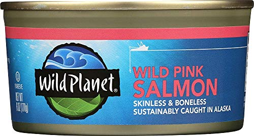 Wild Planet, Wild Pink Salmon, 6 Ounce