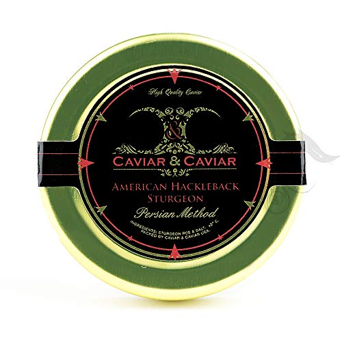 Hackleback Sturgeon Caviar is the most amazing Sturgeon Caviar available in the Unites States today