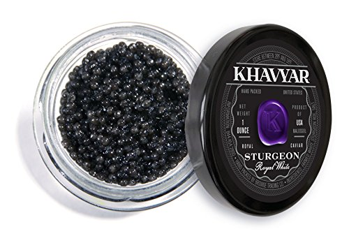 Caviar by Khavyar || Royal White Sturgeon Caviar