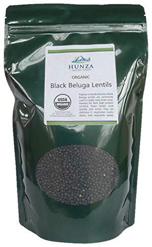 Hunza Organic Black Beluga Lentils (2-lbs)