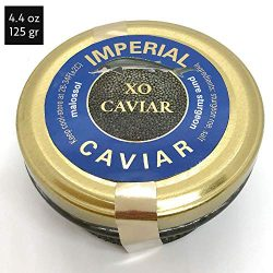 FAST REFRIGERATED SHIPMENT! IMPERIAL SPECIAL RESERVE MALOSSOL CAVIAR – Hybrid Sturgeon Cav ...