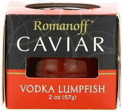 Romanoff (NOT A CASE) Red Vodka Lumpfish Caviar