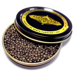 50g/1.75oz True Osetra Caviar, Classic Grade, Sustainable Product of the U.S.A.