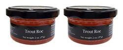 Agustson Trout Roe Caviar, 2 Ounce (Pack of 2)