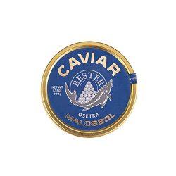 BESTER Caviar | Malossol Russian-Siberian OsetraCaviar | Premium Grade | Traditional Russian Sty ...