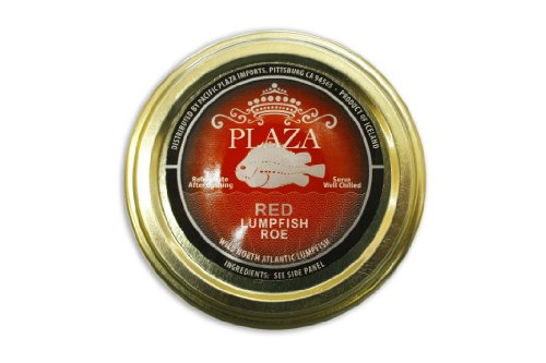 Red Lumpfish Caviar 100g (3.5oz) (4 Packs)