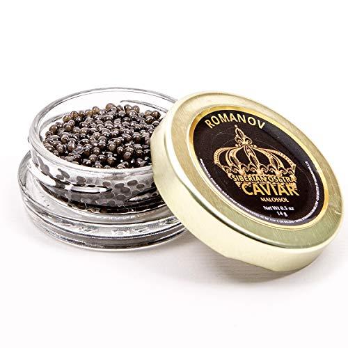 Siberian Osetra Caviar – 1.75 oz – Overnight Delivery