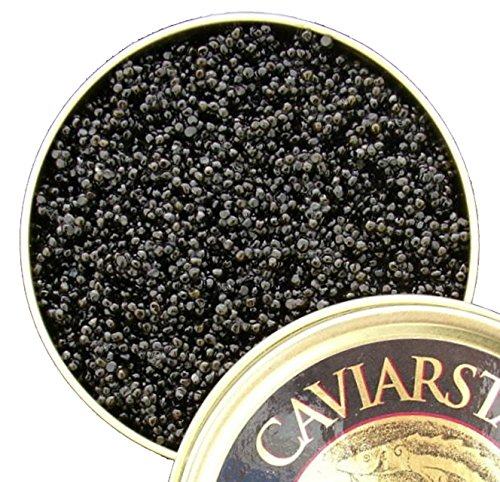 American Hackleback Sturgeon Caviar (4 oz)